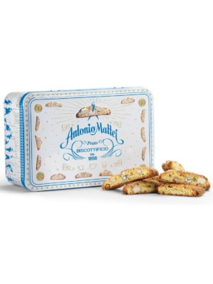 Antonio Mattei - White Tin Box Almond