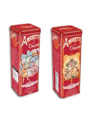 Lazzaroni - Amaretti Crunchy Tower Tin